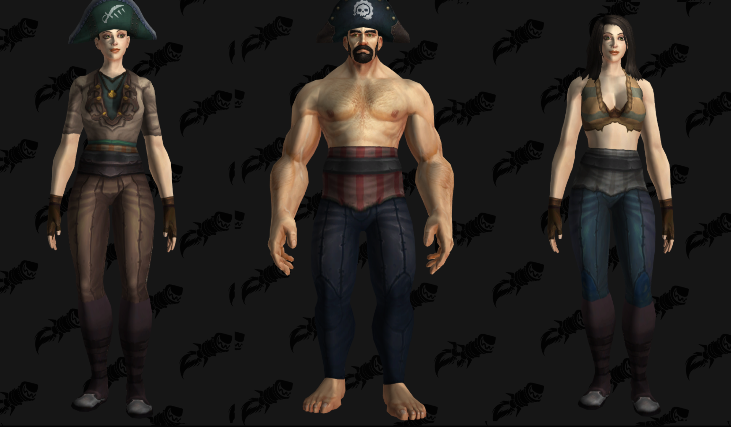 Implementing Cosmetic Pirate Gear - BFA Items and Classes - World of