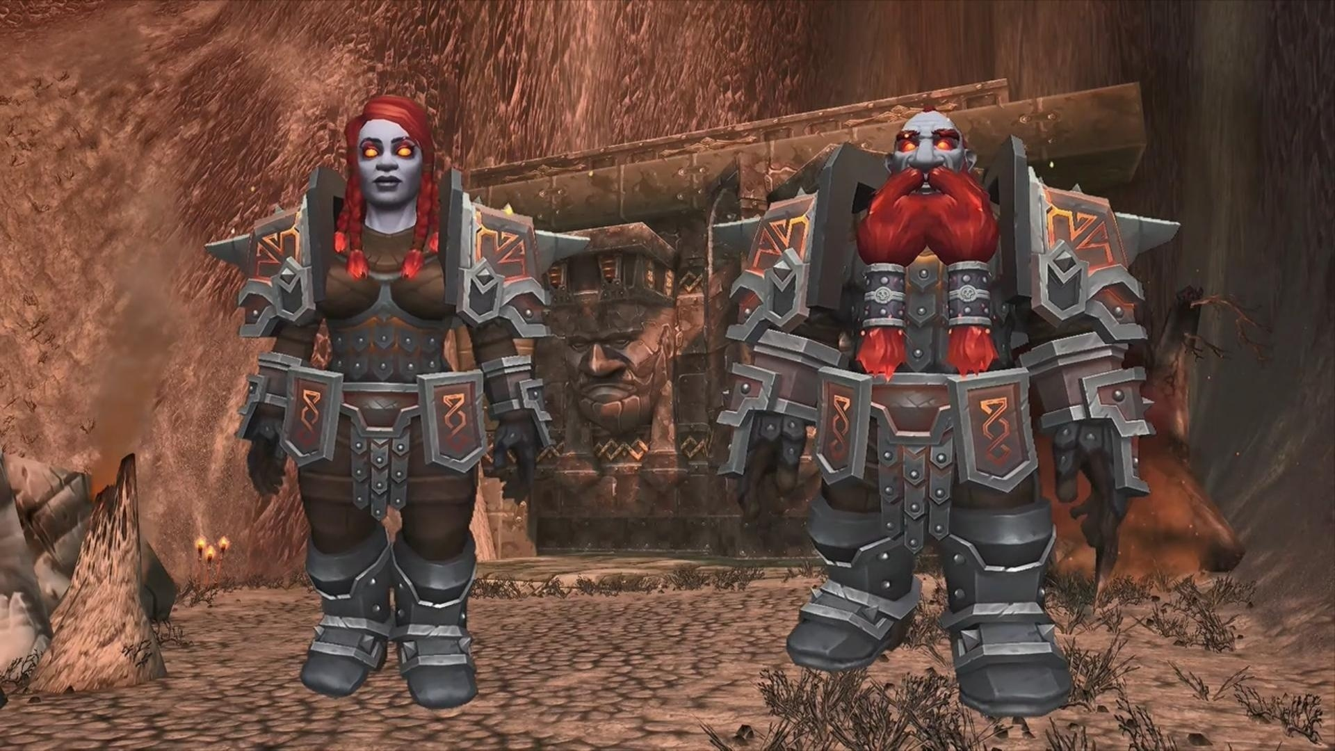 Battle for Azeroth Alpha Build 26367 - Dark Iron Dwarf & Mag'har Orc