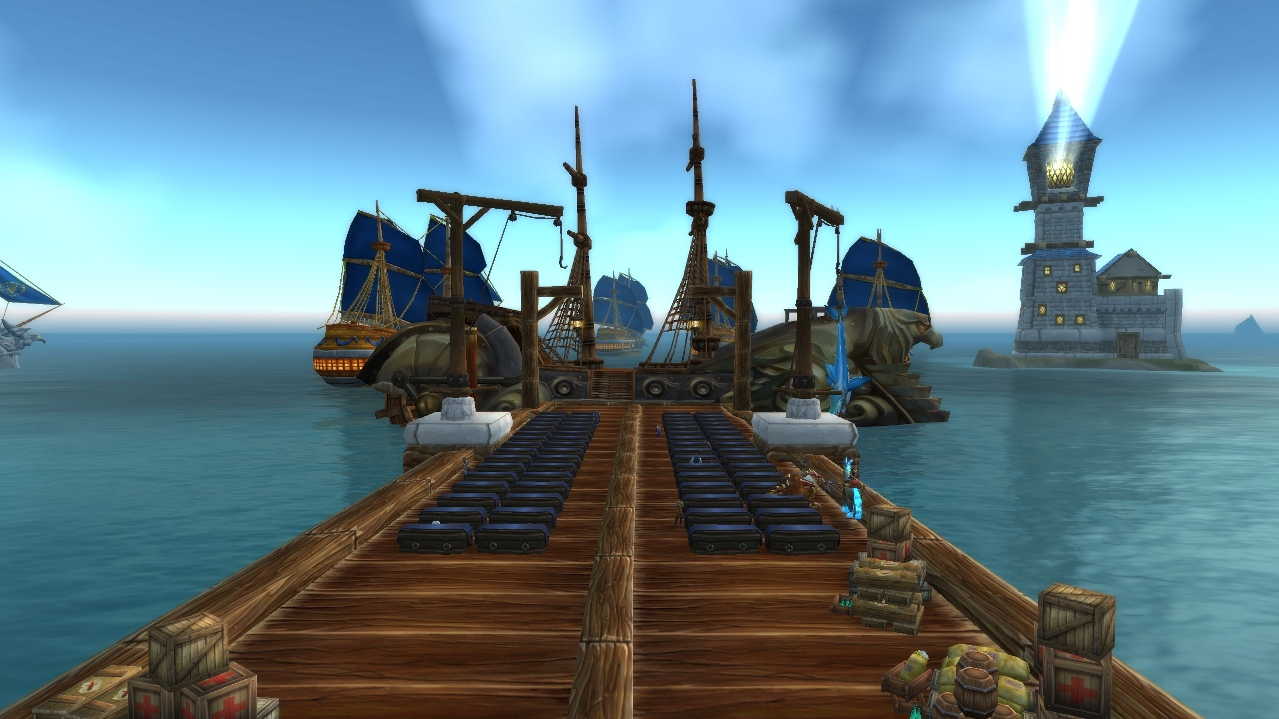 Stormwind and Orgrimmar 26624 Updates - Refugee Camps, God