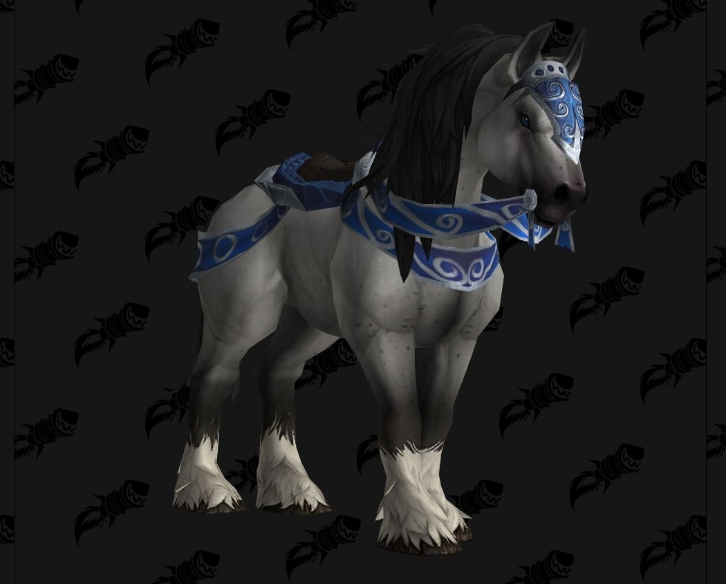 Reins Of The Dapple Gray Battle For Azeroth Reputation Mount Preview Wowhead News