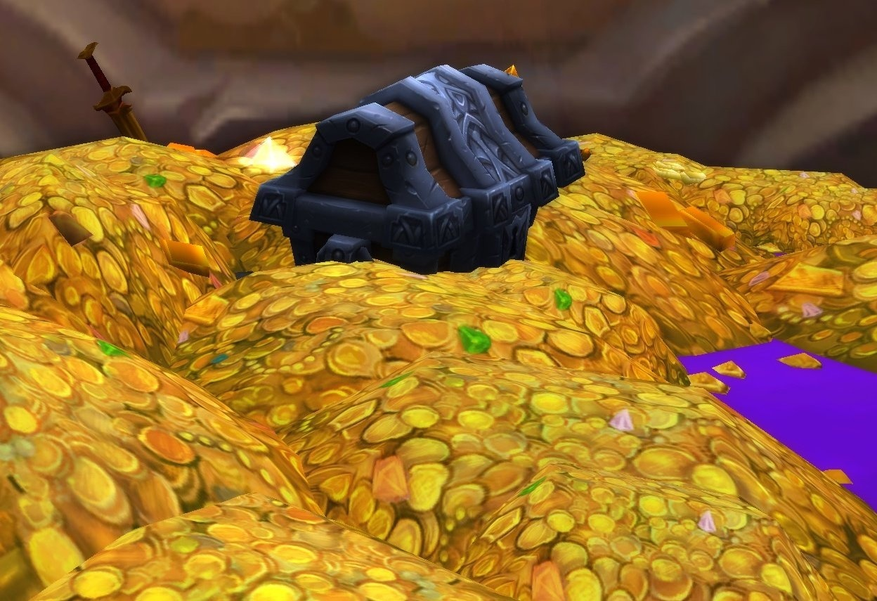 Image result for gold on wow