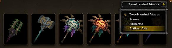 all artifact skins