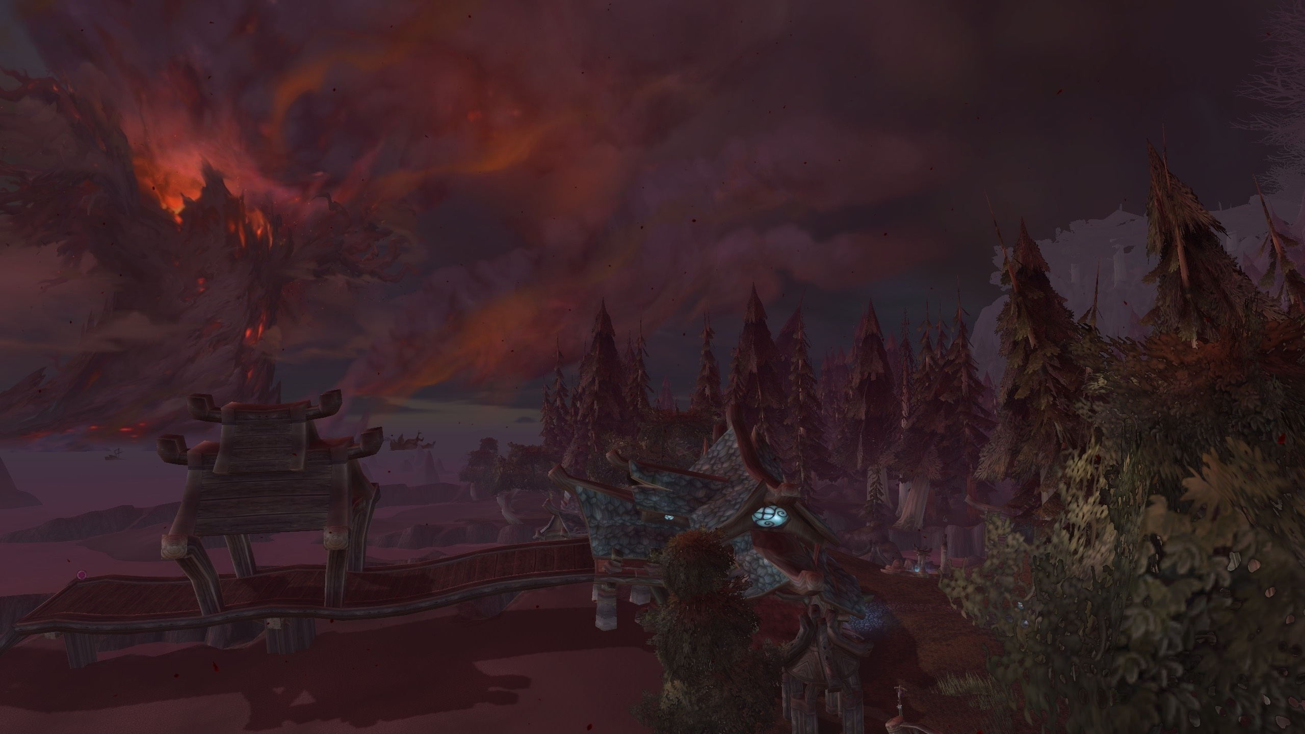 Burning of Teldrassil - War of the Thorns - 8 0 Pre-Patch Event