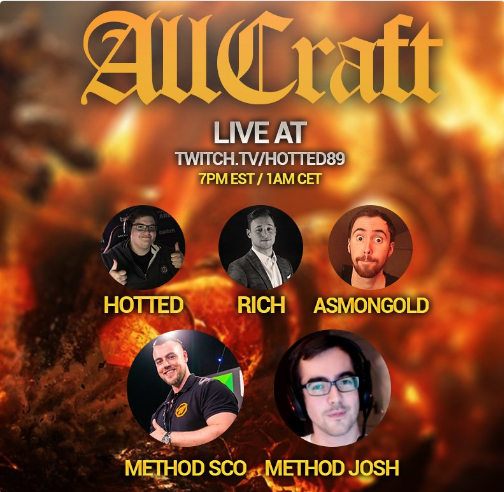 AllCraft with Special Guests Method Sco and Method Josh - Wowhead News
