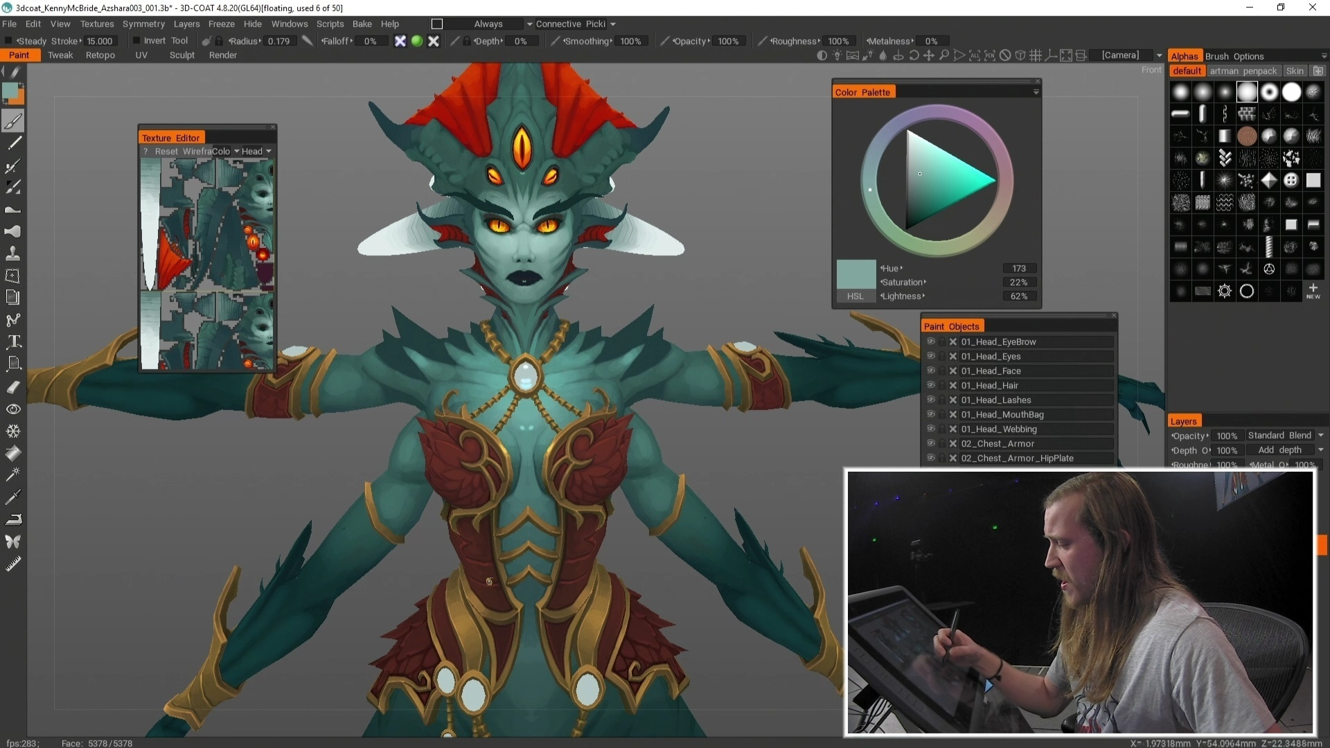 BlizzCon 2018 Artists at Work: Creating World of Warcraft Art