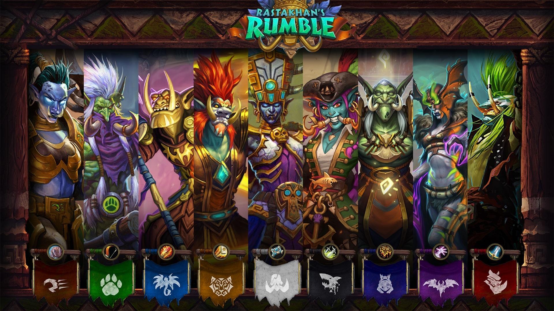 Rastakhan's Rumble - Battle for Azeroth's Alternative