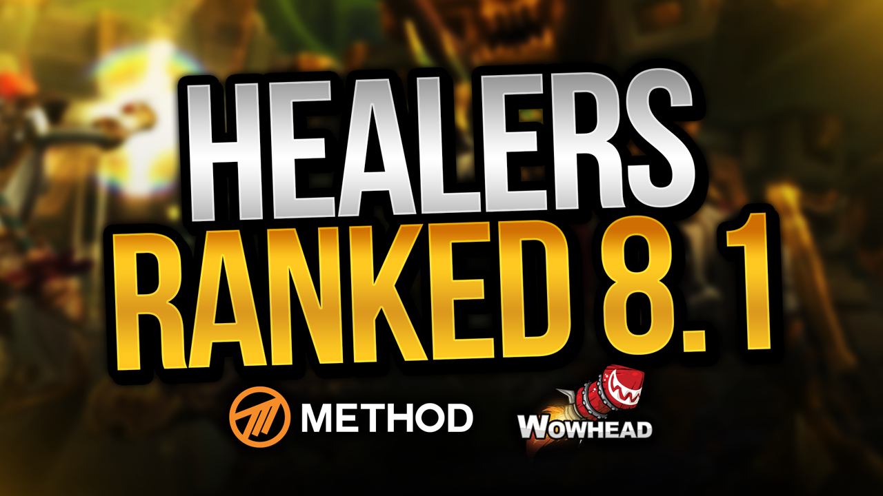 Method's Predictions on Healers in Patch 8 1 Tides of