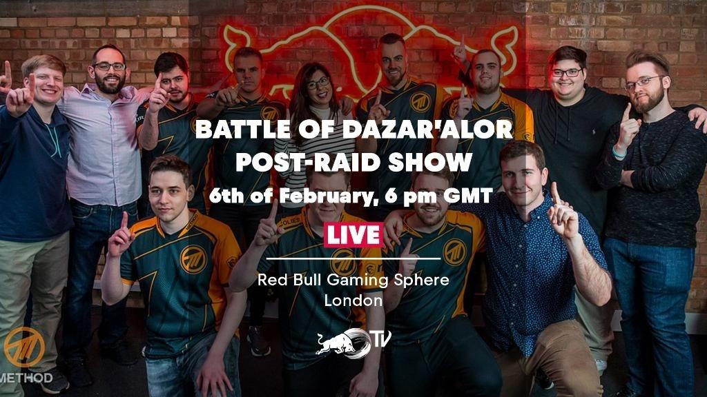 Method's Post-Raid Show at Red Bull Gaming Studio - Wowhead News