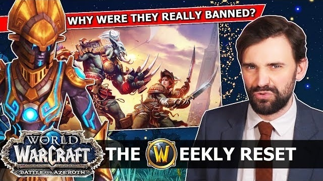 The Weekly Reset by Taliesin and Evitel - Leveling Bans, 8 2