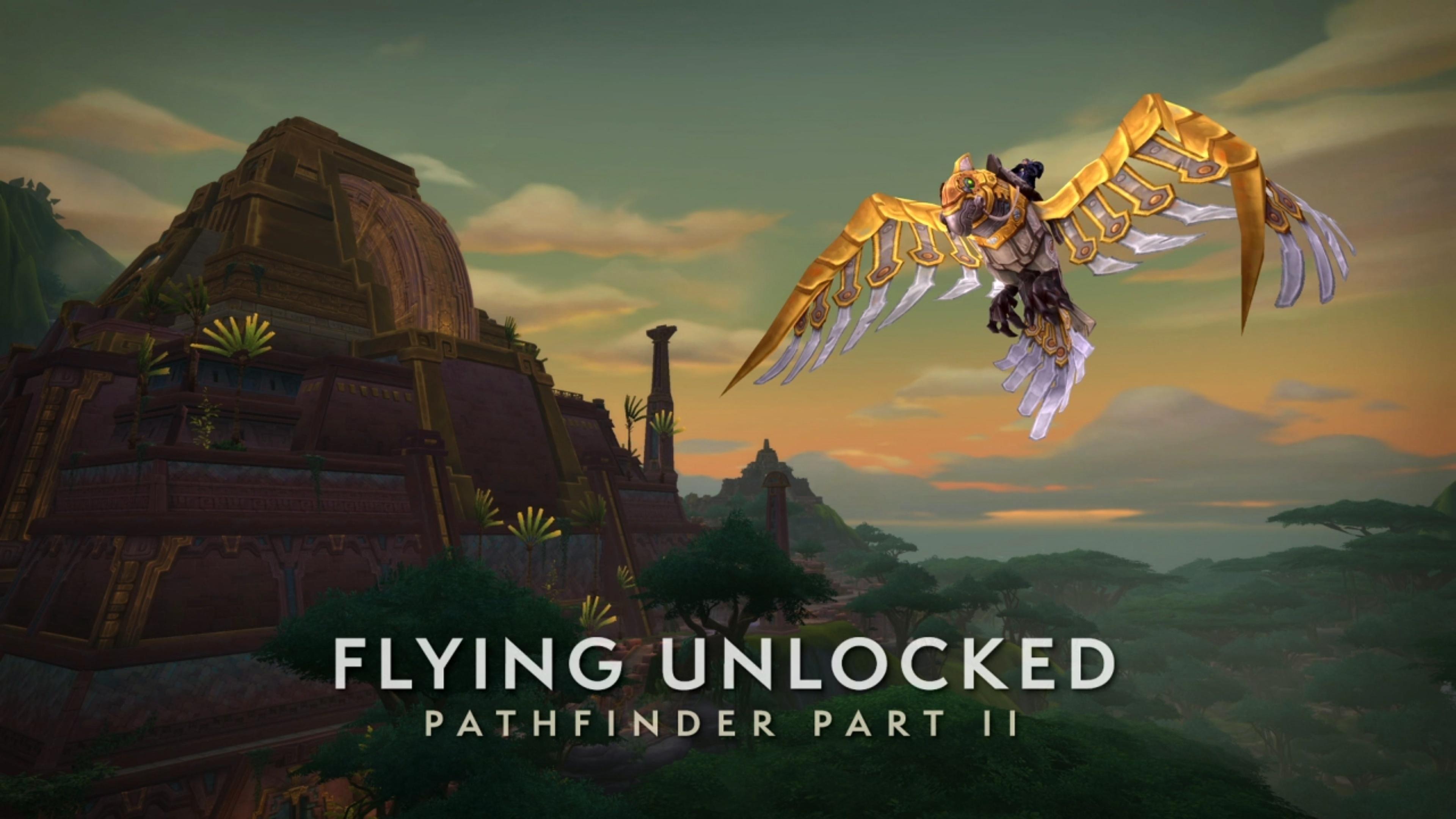 Battle for Azeroth Pathfinder Part 2: Flying Unlock