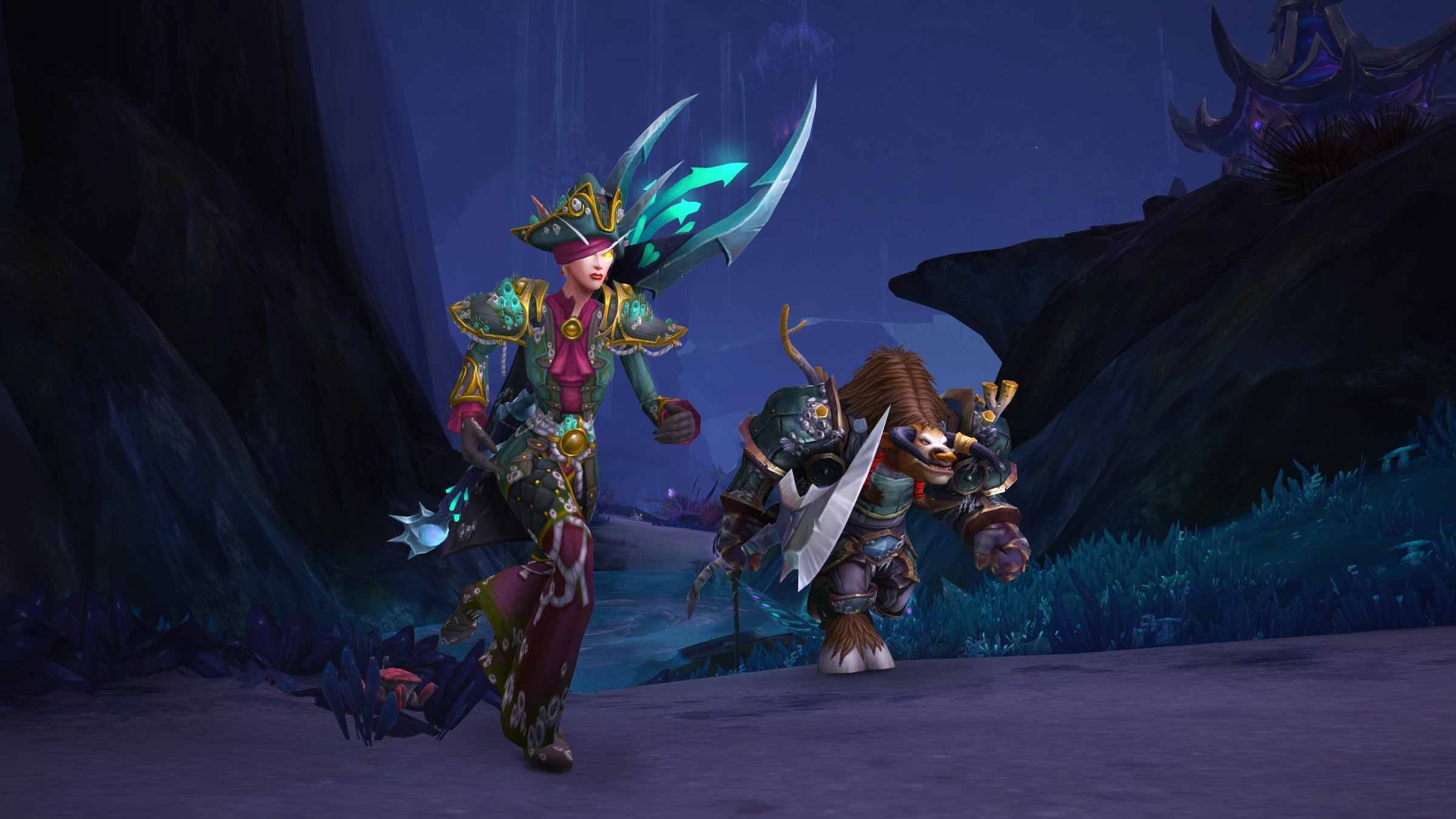 Benthic Gear from Nazjatar in Rise of Azshara - Official