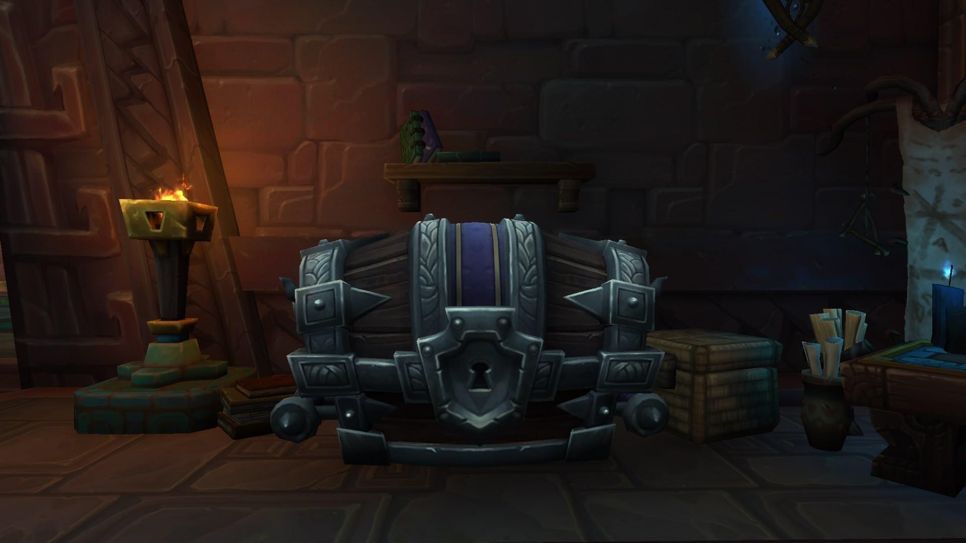 wow mythic + chest