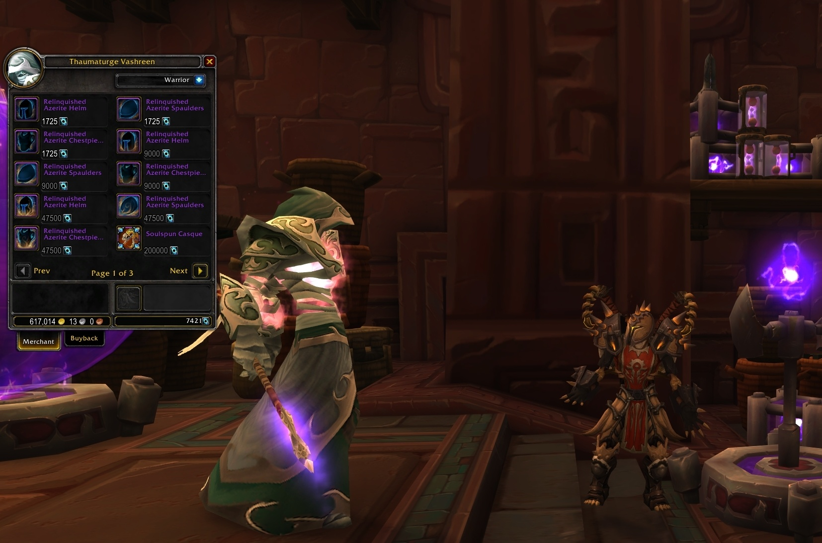 Missing Titan Residuum Pieces and Blizzard's Selective Refund Policy