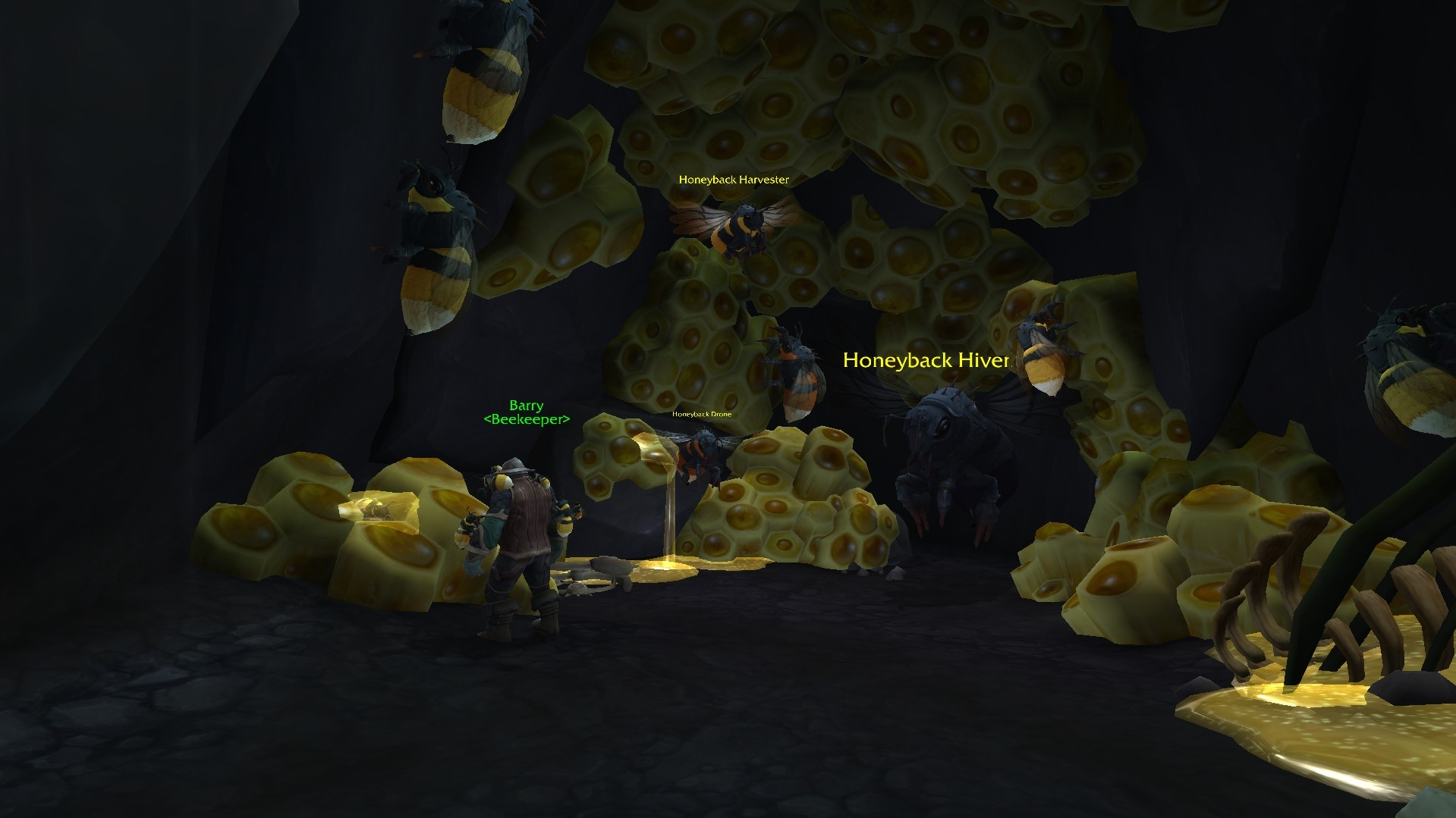 Honeyback Harvester Introduction And Honeyback Hive Faction 8 2 5 Ptr Wowhead News