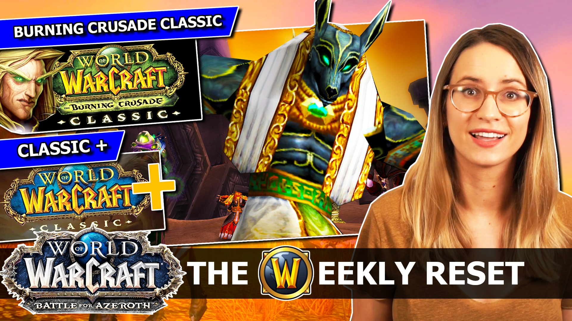 The Weekly Reset by Taliesin and Evitel - WoW Classic Launch