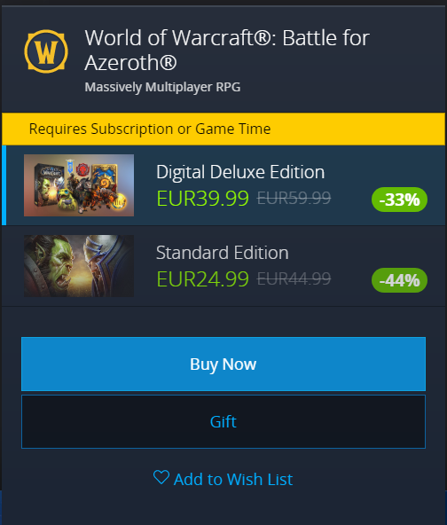Battle for Azeroth Expansion On Sale For $20 Off - Wowhead News