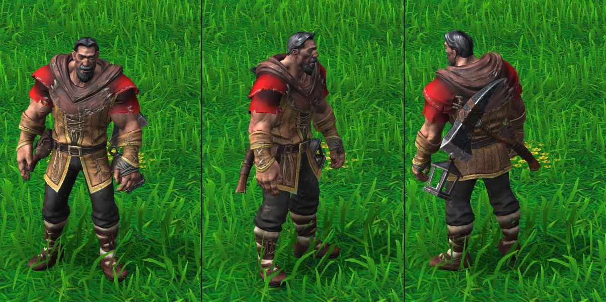 Warcraft Iii Reforged Human Unit Models Wowhead News