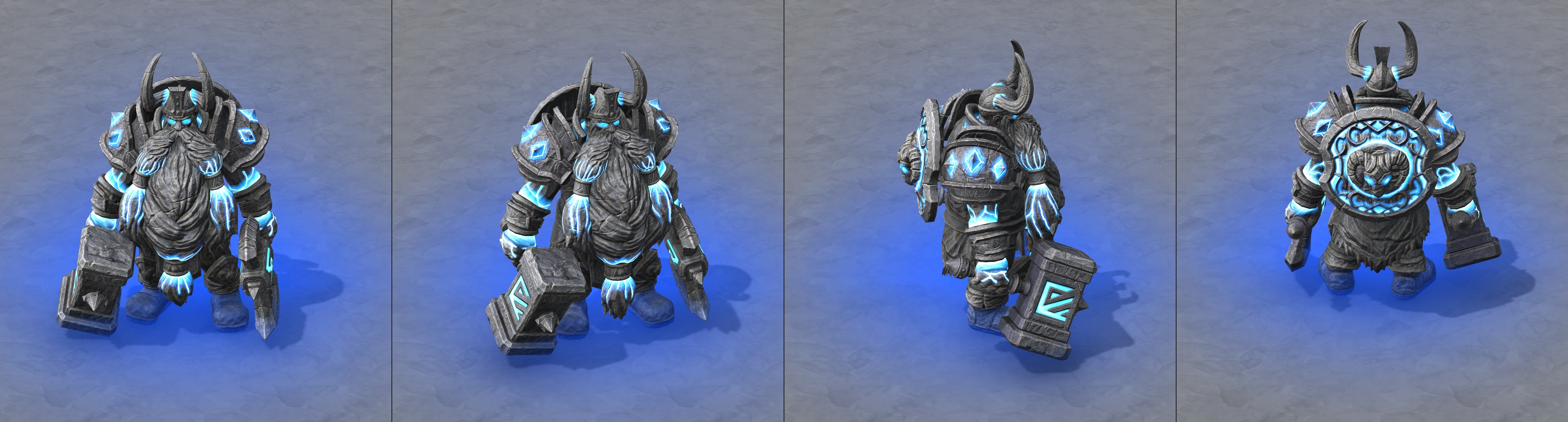 Warcraft Iii Reforged Alliance Character Models Muradin Avatar
