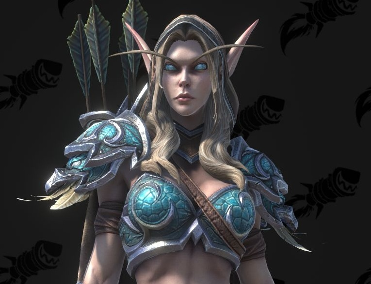 Warcraft III: Reforged High Elf and Blood Elf Models