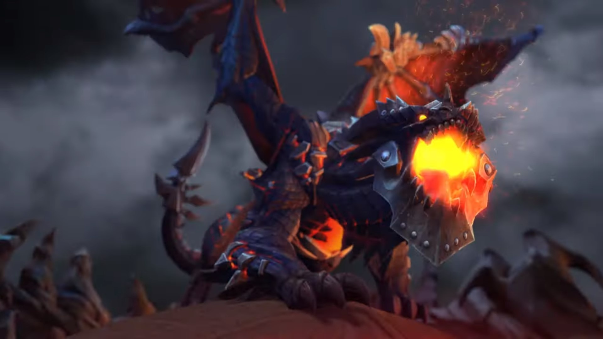 Deathwing Is The Next Heroes Of The Storm Hero Wowhead News It looks like deathwing first look stream event was momentarily shown on hots twitch channel before it was quickly taken down. heroes of the storm hero wowhead