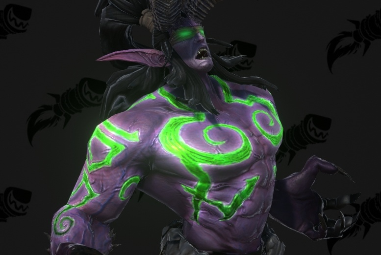 Warcraft Iii Reforged Models Illidan Stormrage And Lady Vashj