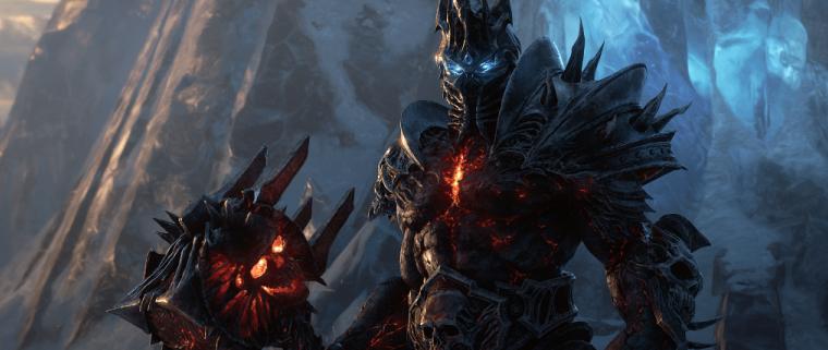Bolvar Lich King Art On Blizzard Gear Shop Is Shadowlands