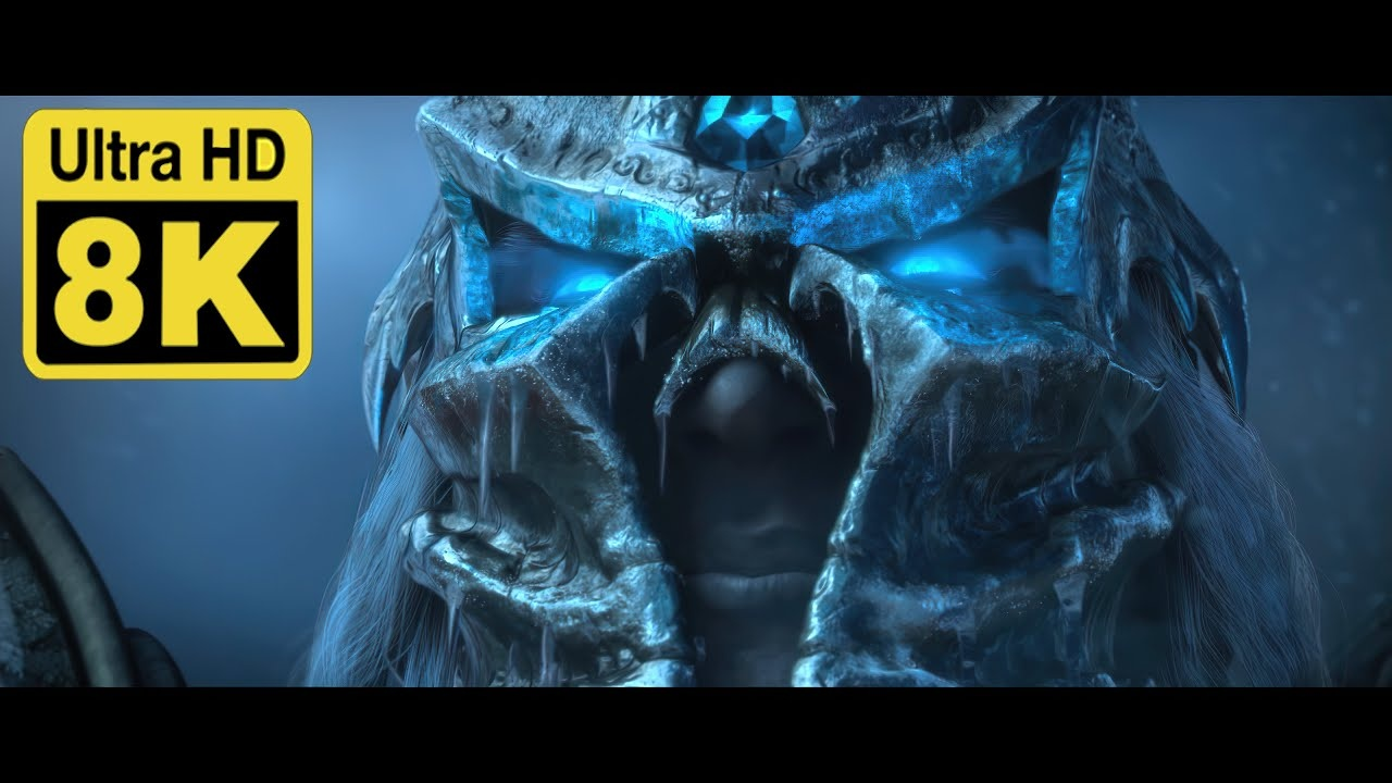 Wrath Of The Lich King Cinematic Remastered To Ultra Hd 8k