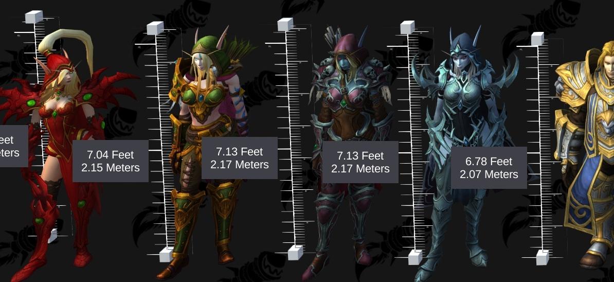 Wow Worgen Height