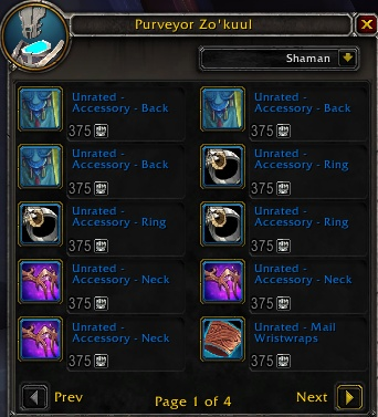 PvP Vendor and Item Upgrade Vendor Located in Oribos - First Look -  Actualités Wowhead