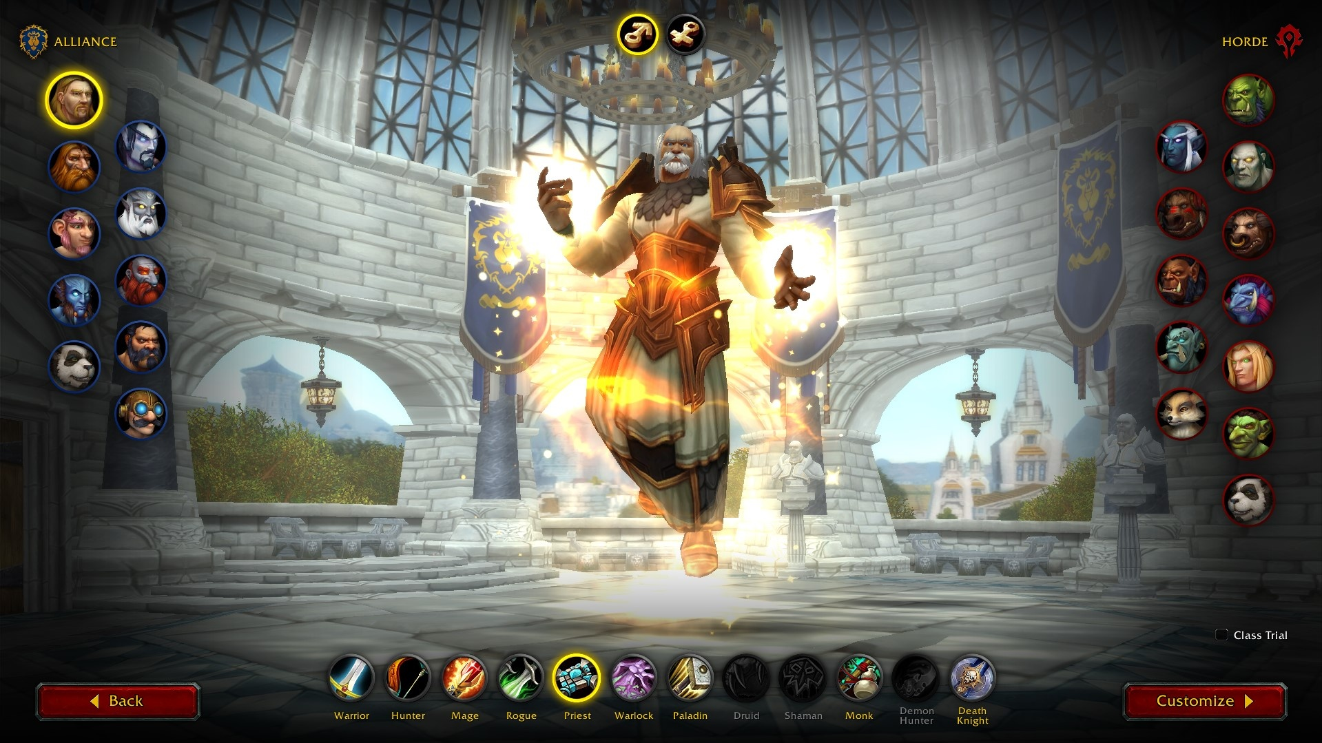 New Class Animations in the Character Creation Screen in Shadowlands -  Wowhead News