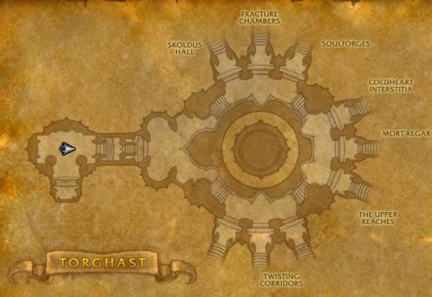 Подробности о структуре кварталов и режимов Торгаста в Shadowlands