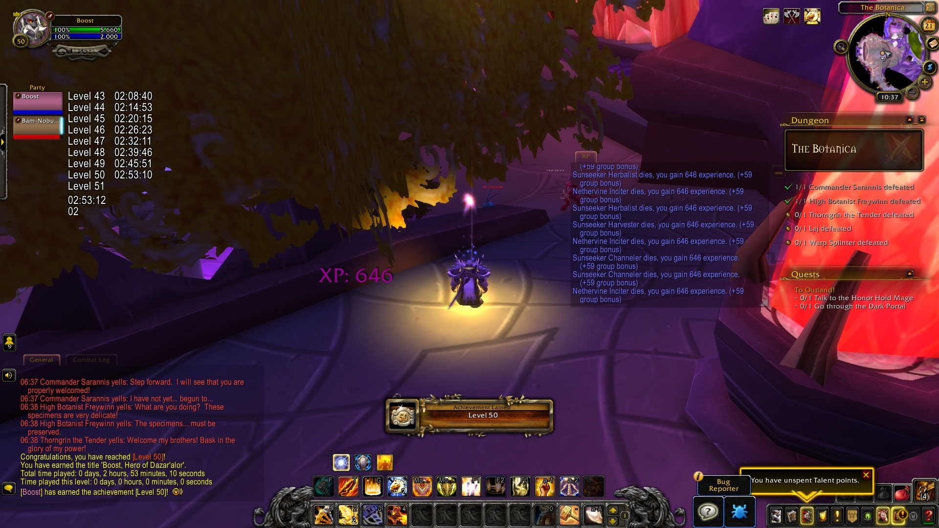 Speed Leveling Shadowlands Beta In Under Three Hours Through Dungeon Boosting Wowhead News