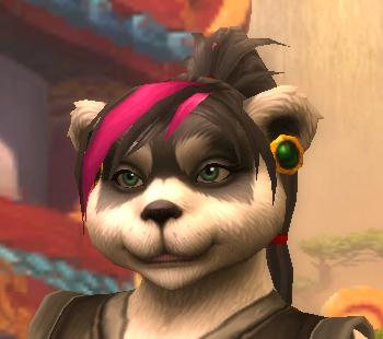 Mists Of Pandaria Pendientes Y Peinados Para La Hembra Pandaren