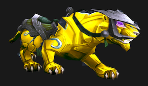 Onyx panther (yellow)