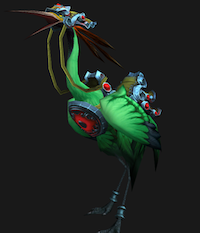 Crane mount (green)