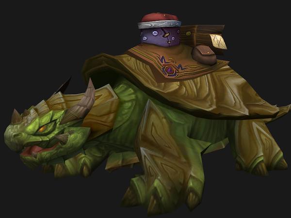 Dragon turtle mount
