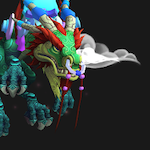 Serpent mount