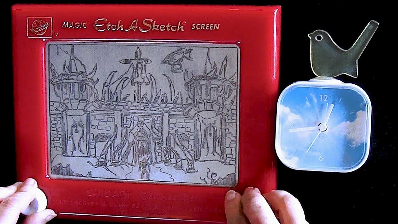 Etch A Sketch-Künstler zeichnet Orgrimmar in unter einer Stunde
