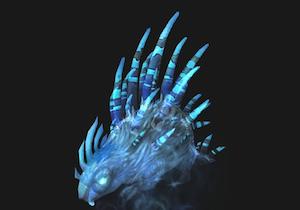 Spectral porcupine (blue)
