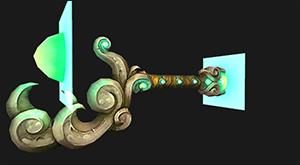 Raid Wand (green)