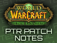 PTR Patch Notes