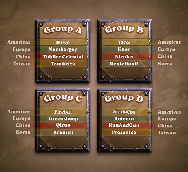 Hearthstone World Championship Schedule