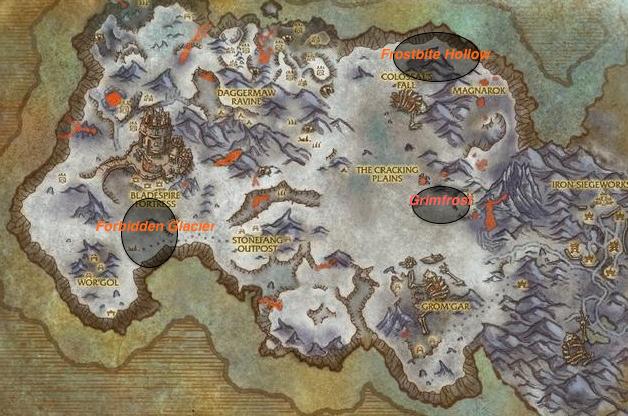 Frostfire Ridge Leveling Guide Wowhead News