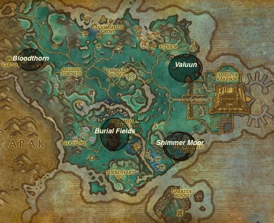 Shadowmoon valley exploration map shadowmoon valley leveling guide