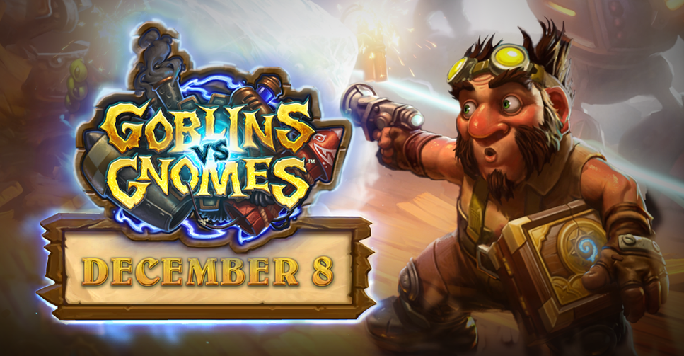 Goblins vs Gnomes Release Date is December 8th!