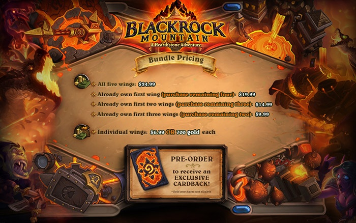 Blackrock Mountain Pricing