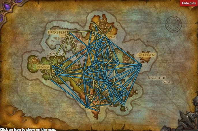 Kalimdor Road Map on draenor map, wow fossil dig sites map, azeroth map, stormwind map, orgrimmar map, guild wars 2 gendarran fields map, lordaeron map, molten core map, desolace map, dragonblight map, darkshore map, bloodmyst isle map, thousand needles map, eastern kingdoms map, ashenvale map, wrath of the lich king map, dustwallow marsh map, emerald dream map, undercity map, netherstorm map,