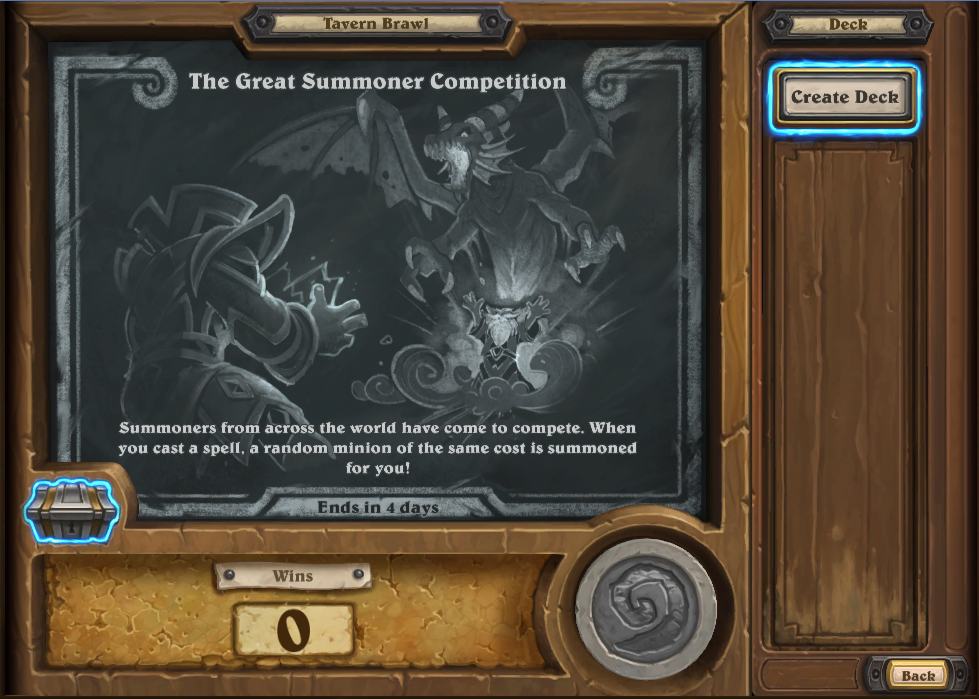 New Card Reveals, The Grand Summoner Competition Tavern Brawl