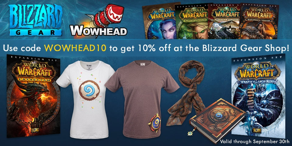 Wowhead Weekly #49: Merch!, This Month in WoW - September - Wowhead News