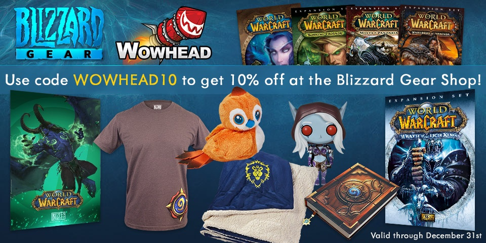 World of Warcraft rarely offers promo codes. On average, World of Warcraft offers 0 codes or coupons per month. Check this page often, or follow World of Warcraft (hit the follow button up top) to keep updated on their latest discount codes. Check for World of Warcraft's promo code exclusions.5/5(1).